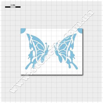 Трафарет метелика №4